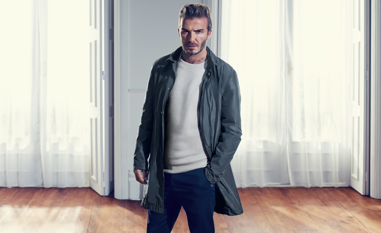 David Beckham - The Knitted Sweater