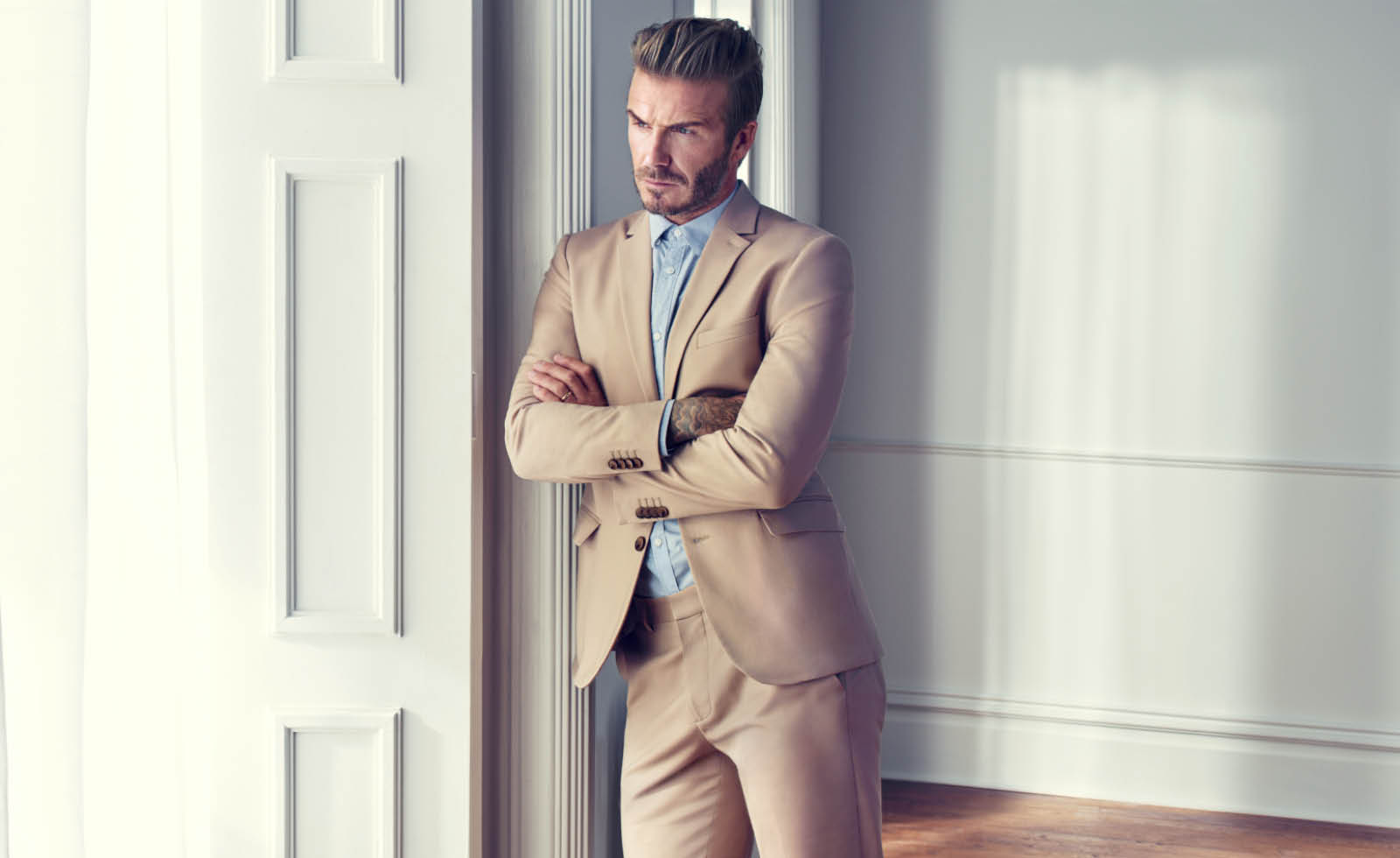 David Beckham - The Bomber Jacket