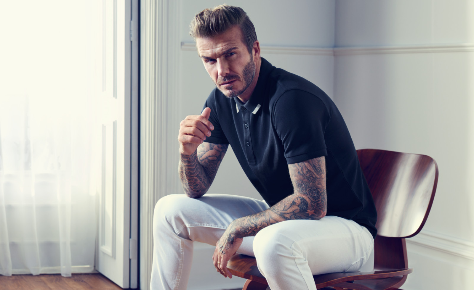David Beckham - The Classic Coat